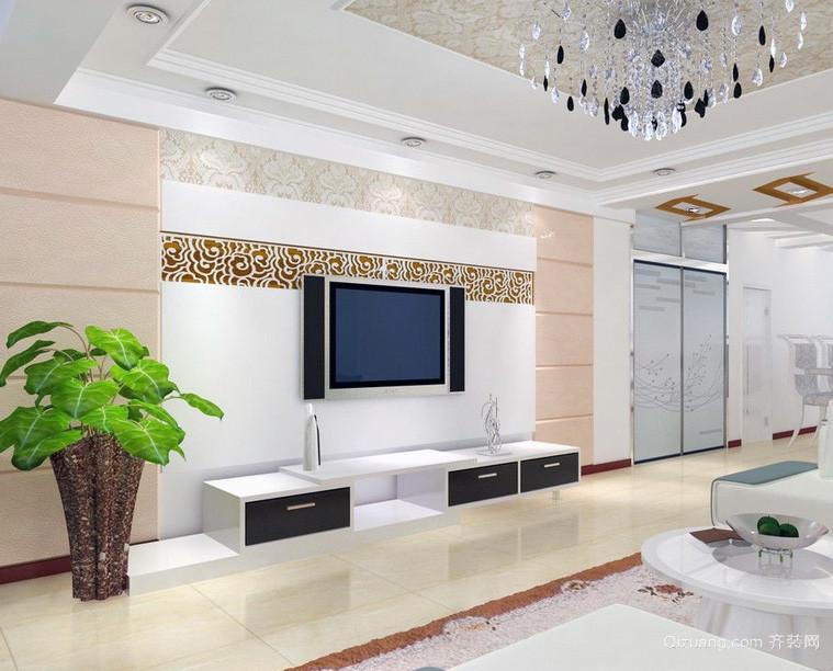 极美欧式大户型客厅室内装修效果图案例