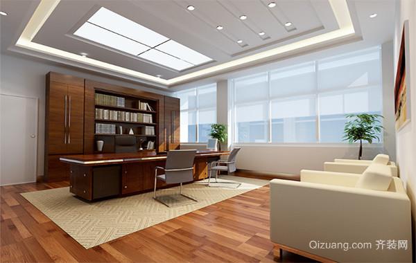 现代精致的都市办公室吊顶装修效果图鉴赏