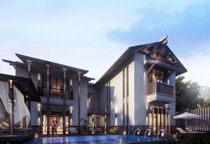 大户型东南亚风格酒店装修图片