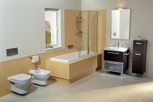 现代简约两室一厅浴室装修效果图