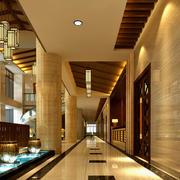酒店东南亚奢华走廊欣赏