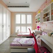 90平米粉色卧室欣赏