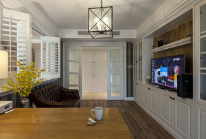 90平米房屋简约美式装修效果图