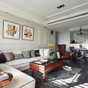 90平米舒适沙发欣赏