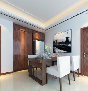三居室欧式家庭室内餐厅背景墙装修效果图