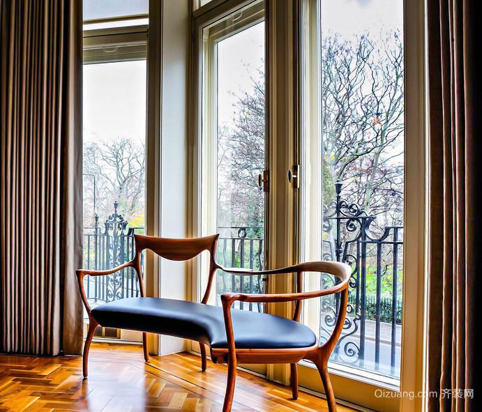 2016别墅型现代欧式室内窗帘装修效果图