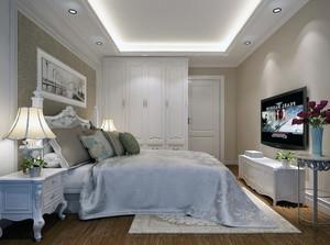 60平米小户型欧式卧室背景墙装修效果图鉴赏