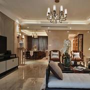 中式舒适客厅展示