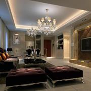 大户型精美的现代欧式室内吊顶装修效果图