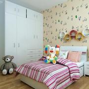 精致儿童房床头欣赏