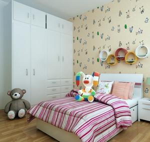 宜家舒适的小户型儿童房装修效果图