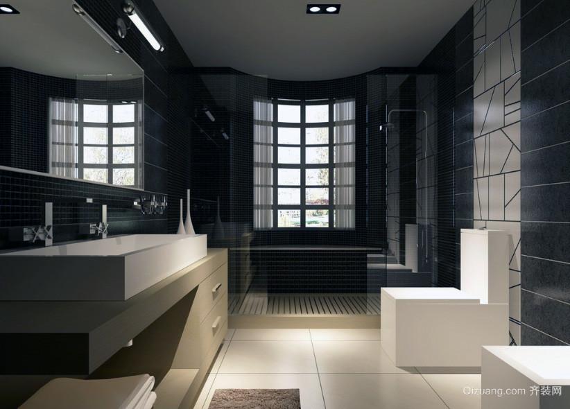欧式风格现代大户型卫生间装修效果图鉴赏