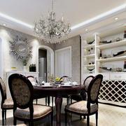 现代室内餐桌椅设计