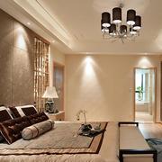中式浅色调卧室欣赏