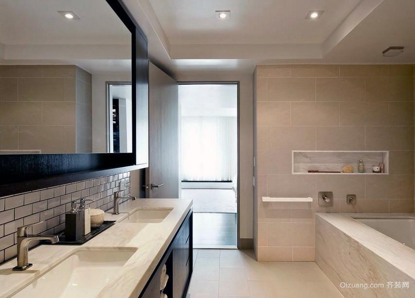 精美都市大户型欧式风格浴室装修效果图