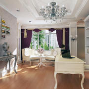 现代室内小户型欧式书房装修效果图鉴赏