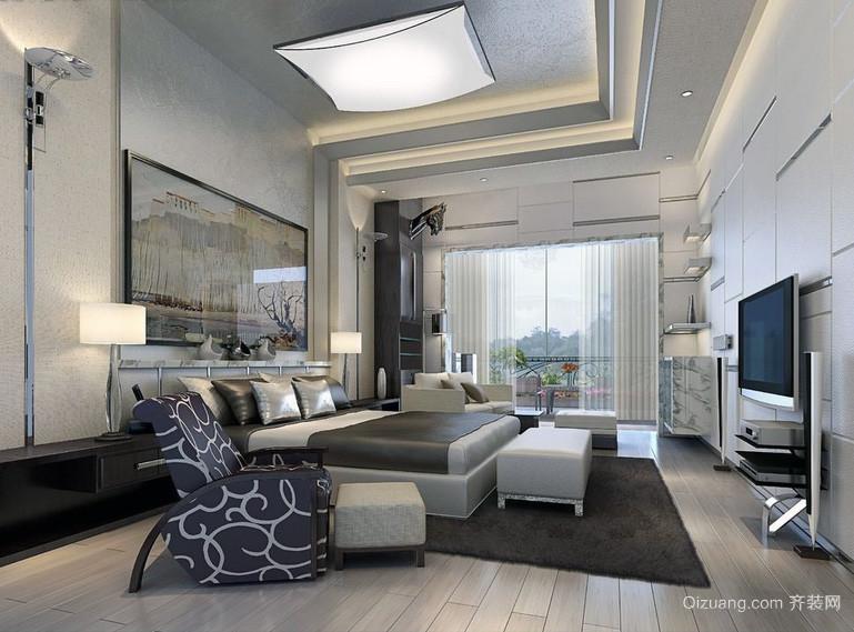 2016后现代装修风格卧室装修效果图实例
