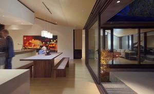 现代日式322平米别墅淡雅装潢设计图
