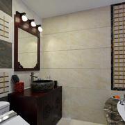 中式卫生间洗手台展示