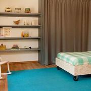 温馨的暖色调欧式大户型儿童房装修效果图