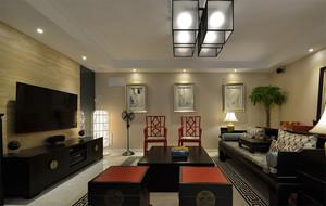 中式大客厅设计欣赏