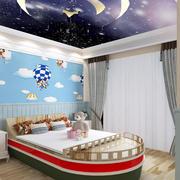 儿童房个性海盗船装饰