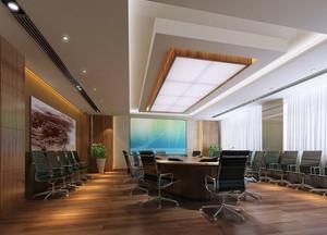 超级有气势的现代会议室设计效果图