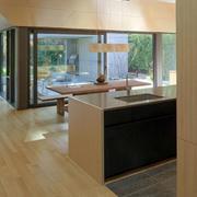 别墅生态木地板展示