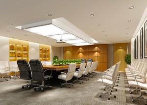 2016都市精致会议室设计效果图