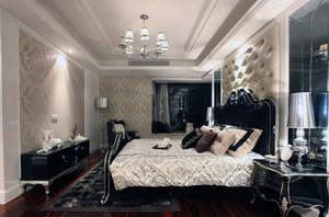 欧式小户型卧室软包背景墙装修效果图鉴赏