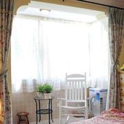 70平米家庭小卧室田园阳台装修图片