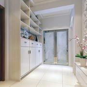 精美的跃层地中海风格室内鞋柜装修效果图