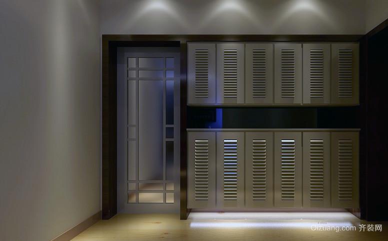 精美的110平米地中海风格鞋柜装修效果图实例