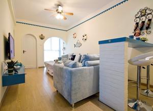 独特的现代室内地中海风格飘窗装修效果图