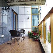 别墅型地中海风格阳台装修效果图实例