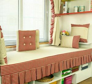 单身公寓梦幻田园小飘窗装修效果图