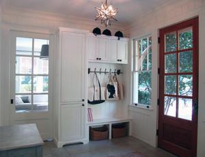 精致的别墅型地中海风格鞋柜装修效果图实例