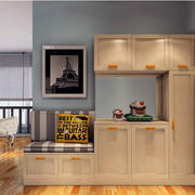 三居室经典地中海风格室内鞋柜设计效果图