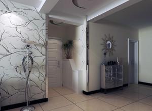 温馨的复式楼现代地中海风格效果装修效果图