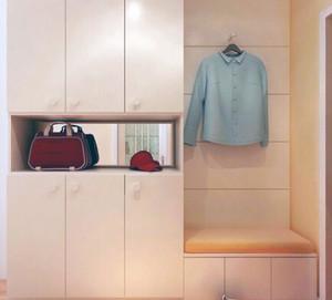 小户型精美的现代地中海风格鞋柜设计效果图