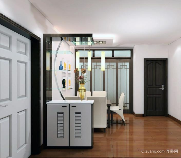 70平米地中海风格室内鞋柜设计效果图