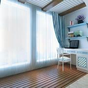 时尚的别墅型地中海风格阳台装修效果图