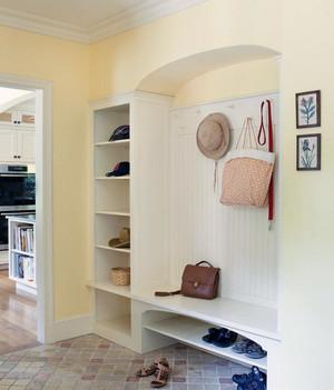 独特的现代别墅型客厅地中海风格鞋柜装修效果图