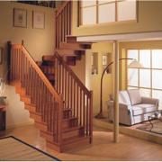 精美的现代大户型室内楼梯装修效果图