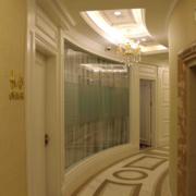 精美的现代三居室地中海风格客厅过道装修效果图