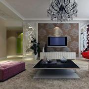 唯美的客厅效果图