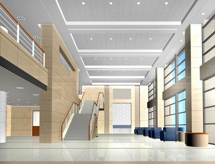 现代时尚的欧式室内楼梯装修效果图鉴赏