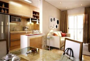 现代厨房整体设计