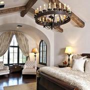 2016阁楼卧室巴洛克风格装修效果图