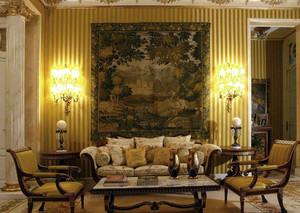 大别墅巴洛克风格客厅家具装修效果图